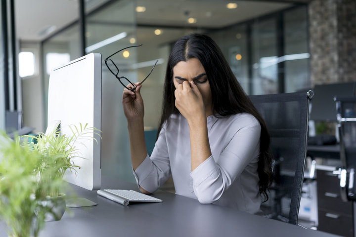 Can stress and anxiety affect your vision?